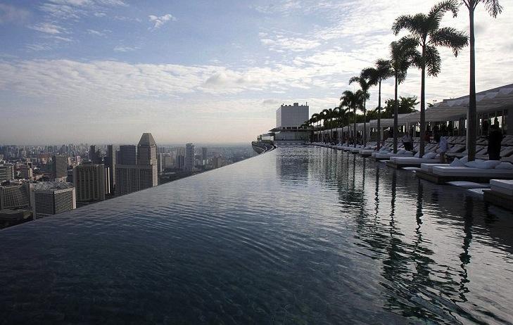 Summed up singapore shanghai sling - Shanghai infinity pool ...