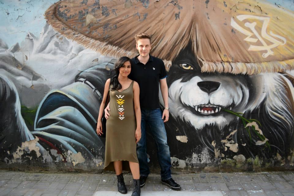Shanghai Art District M50 Shanghai Sling