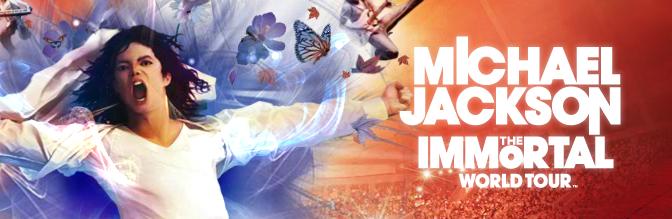 Shanghai: Cirque du Soleil Michael Jackson The Immortal Tour
